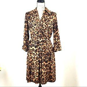 INC international Concepts Womens Leopard Dress